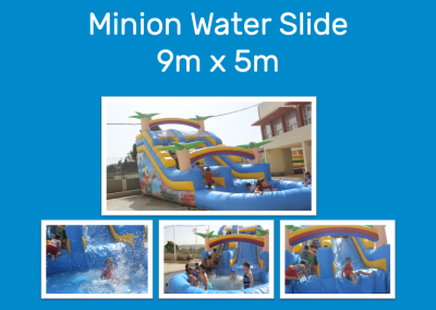 Minion Water Slide